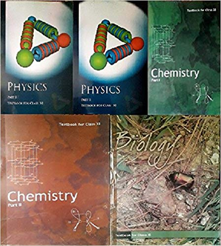 NCERT Physics Textbook Part - 1 And 2 , Chemistry Textbook